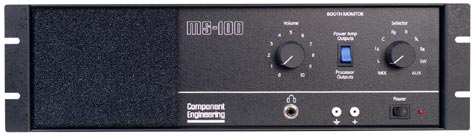 MS-100 Booth Monitor Amplifier