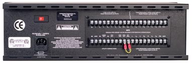 MS-100 Power Supply, back panel